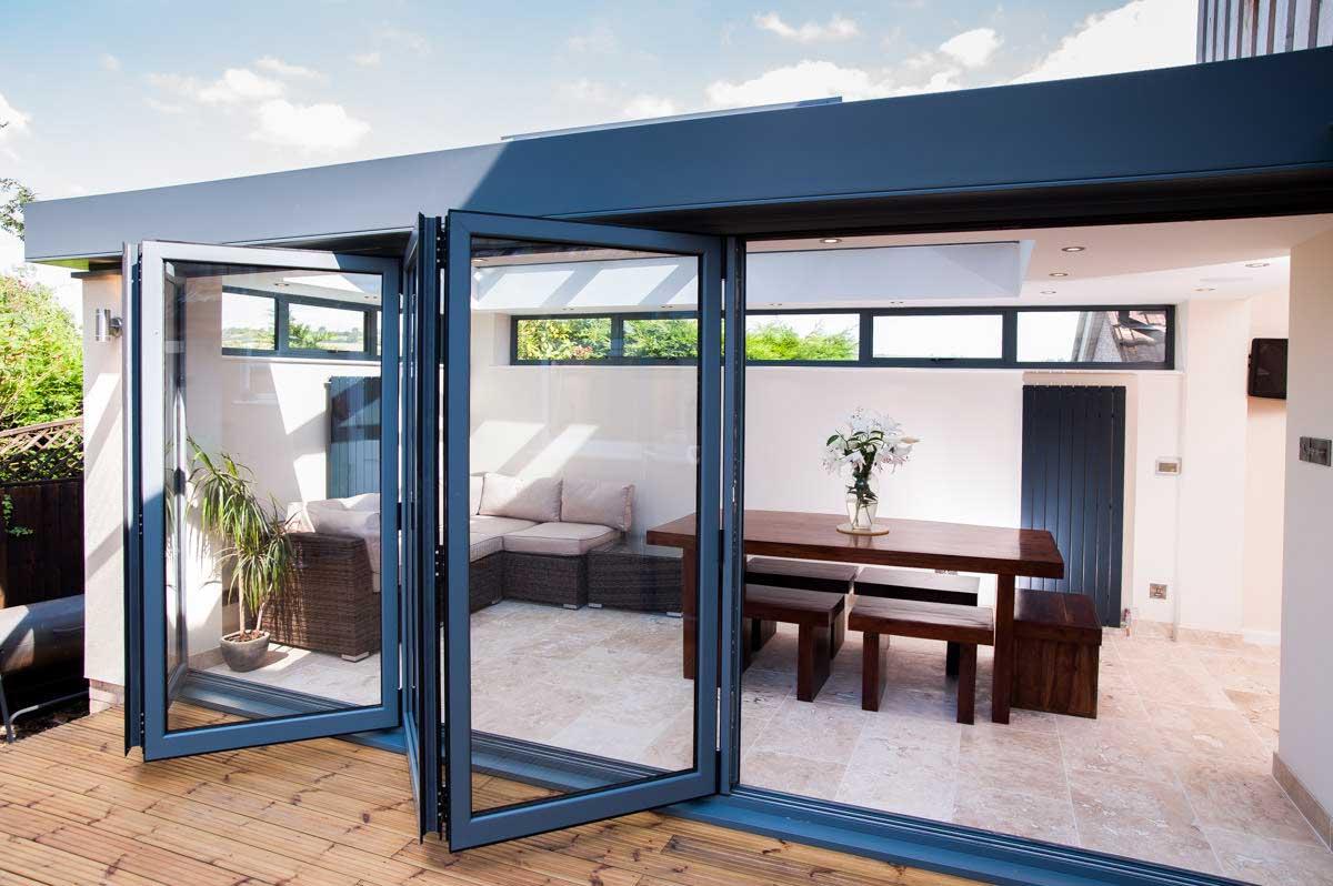 aluminium bi-fold doors hereford