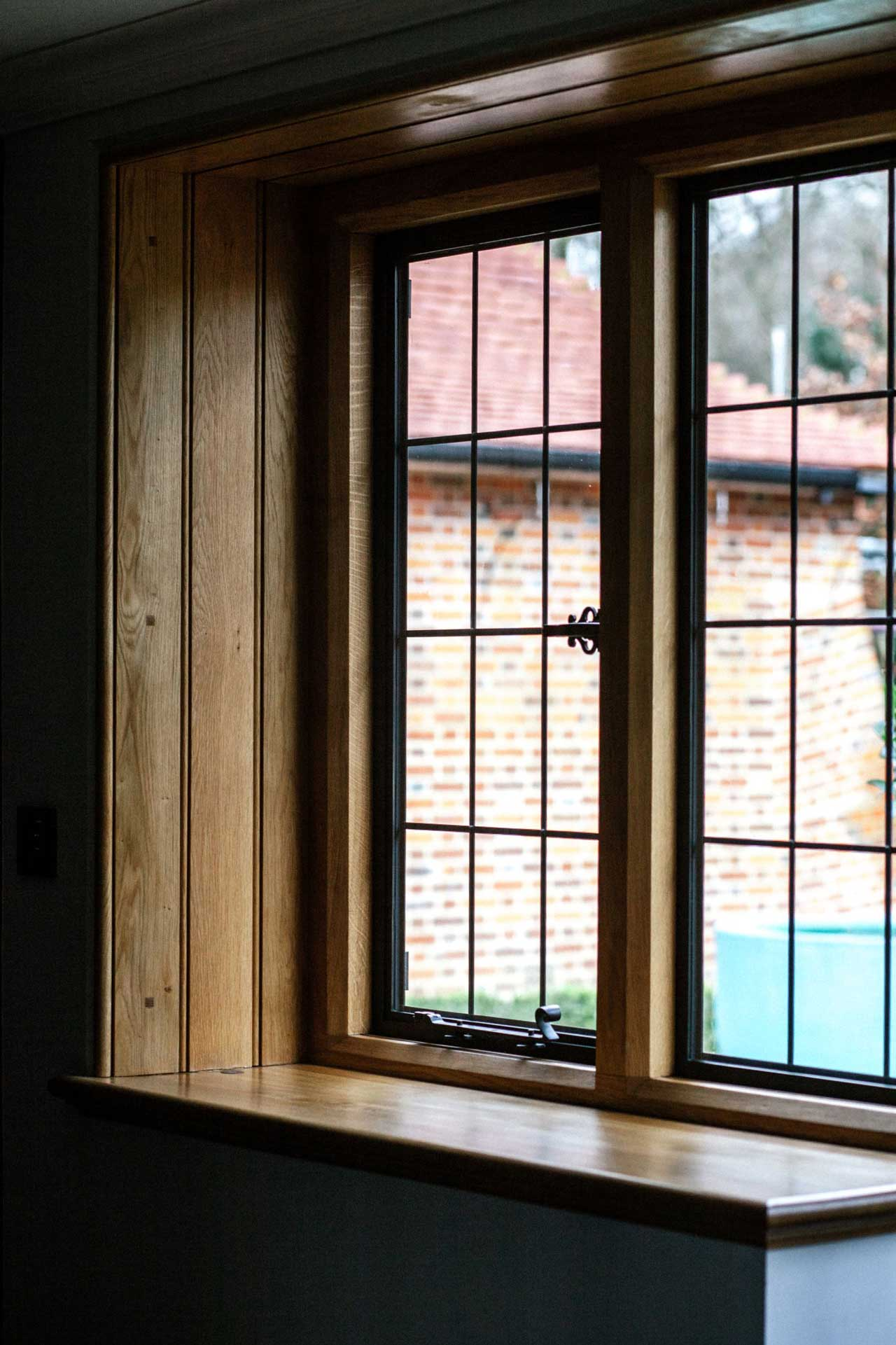 timber flush casement windows costs hereford