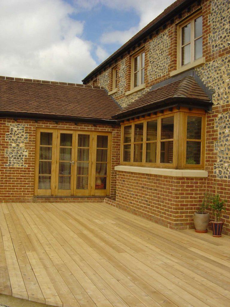 timber flush casement windows hereford