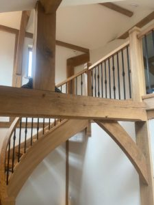 Timber Stairs costs hereford