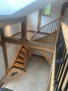 Timber Stair herefordshire