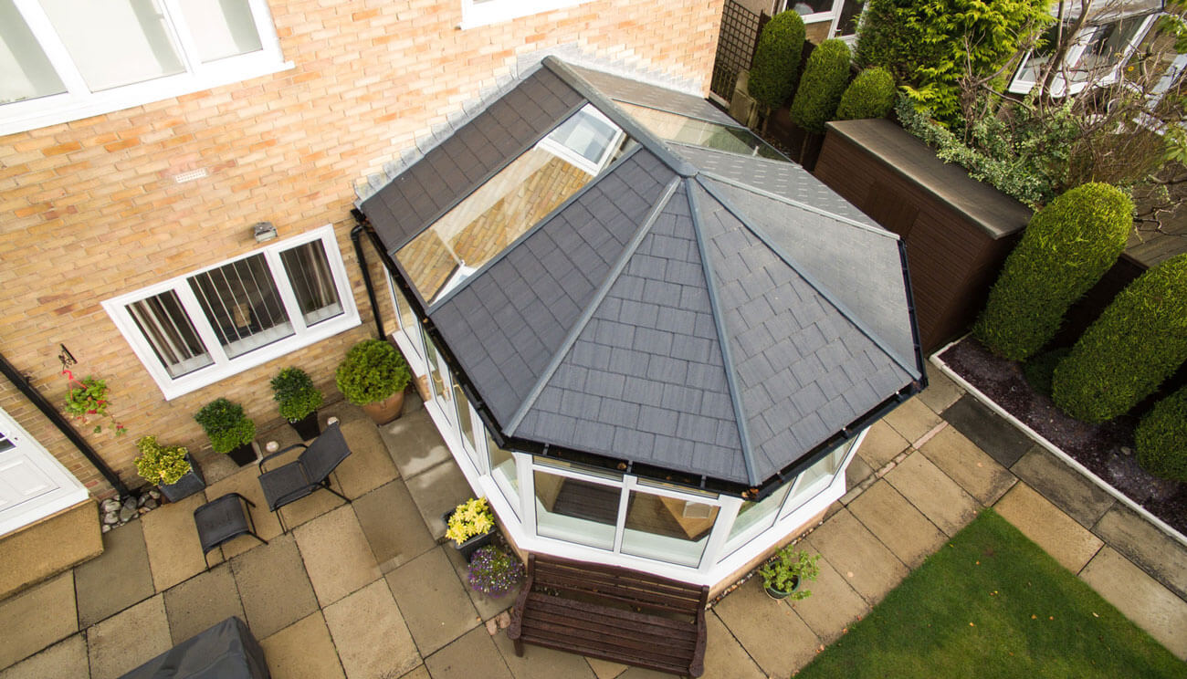 tiled conservatory roof price hereford